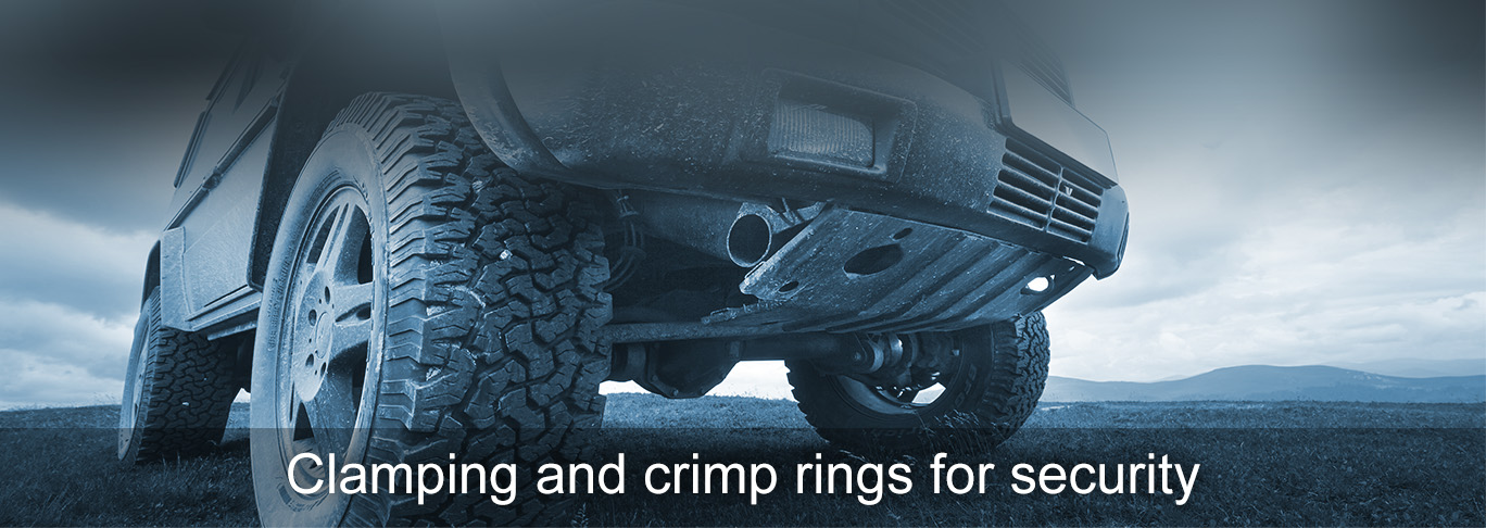 OTTO KUHLMANN OKW Clamping and crimp rings for security